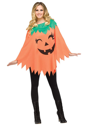 Pumpkin Poncho for Halloween Costume Party, One Size - F. W. Woolworth Co. Online Store