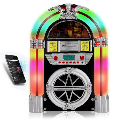 Bluetooth Jukebox with Aux Input - F. W. Woolworth Co. Online Store