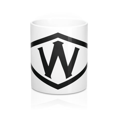 Woolworth W Logo Mug 11oz - F. W. Woolworth Co. Online Store