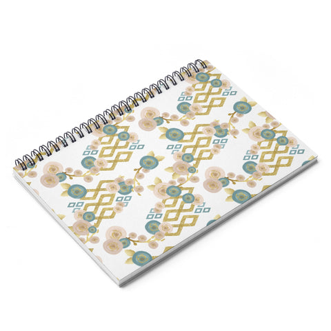 Boho Pattern Spiral Notebook - Ruled Line - F. W. Woolworth Co. Online Store