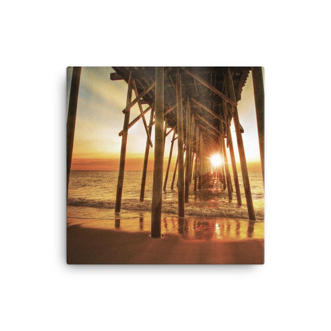 CoastalLife Pier - canvas print