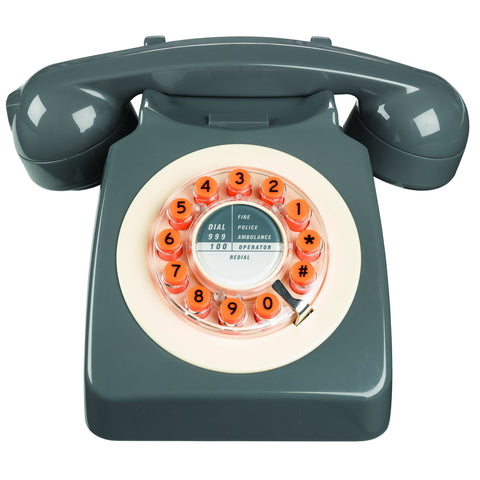 Rotary Design Retro Landline Phone - F. W. Woolworth Co. Online Store