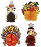 4-Pack Decorative Thanksgiving Playmates