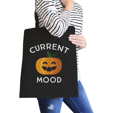 Pumpkin Current Mood Black Canvas Bags - F. W. Woolworth Co. Online Store