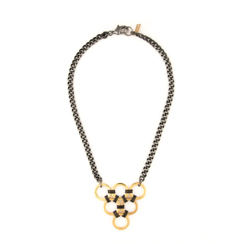 Geo Triangle Necklace - F. W. Woolworth Co. Online Store