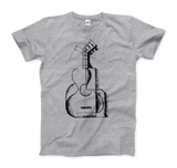 Juan Gris the Guitar 1912 Artwork T-Shirt