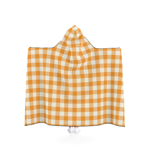 Hooded Blanket - Fall Buffalo Check - F. W. Woolworth Co. Online Store