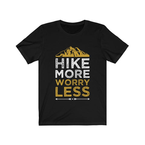 Hike More Worry Less Short Sleeve Tee - F. W. Woolworth Co. Online Store