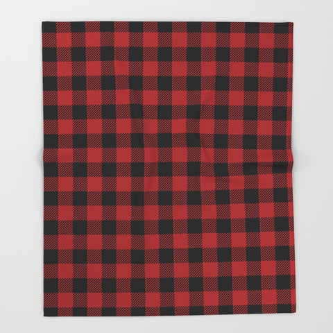 90's Buffalo Check Plaid Throw Blanket - F. W. Woolworth Co. Online Store