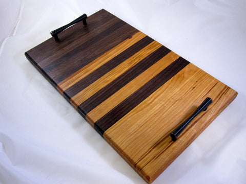 Handmade Charcuterie Cheese board platter #A57 with Handles - F. W. Woolworth Co. Online Store