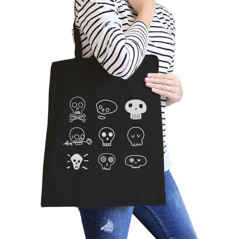 Skulls Black Canvas Bags - F. W. Woolworth Co. Online Store