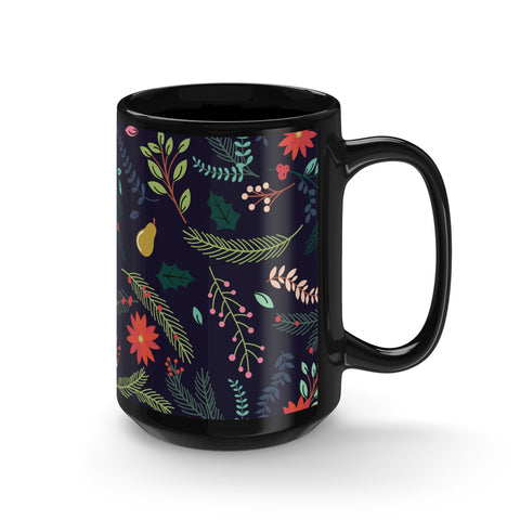 Winter Florals Mug - 15oz - F. W. Woolworth Co. Online Store