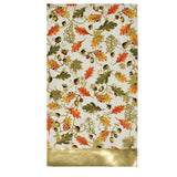 100 Count Fall Thanksgiving Gold Foil Guest Paper Napkins