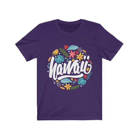 Hawaii Summer Paradise Short Sleeve Tee