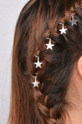 Star Shaped Hair Ring Set - F. W. Woolworth Co. Online Store