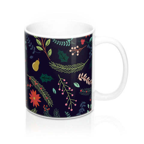 Winter Florals Mug - F. W. Woolworth Co. Online Store