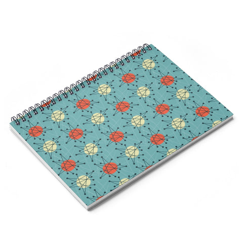 Atomic Spiral Notebook - Ruled
