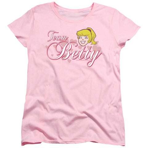 Archie Comics - Team Betty Short Sleeve Women's Tee