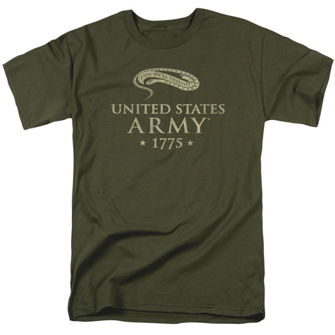 Army - We'll Defend Short Sleeve Adult 18/1 - F. W. Woolworth Co. Online Store
