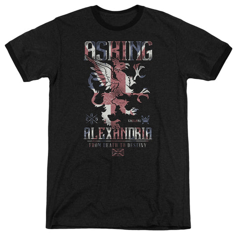 Asking Alexandria - Royalty Adult Ringer - F. W. Woolworth Co. Online Store