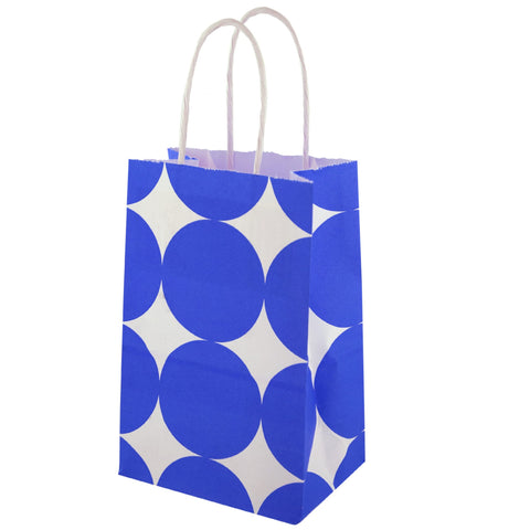 Blue Dots Gift Bag - F. W. Woolworth Co. Online Store