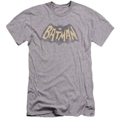 Batman Classic Tv - Show Logo Premuim Canvas Adult Slim Fit 30/1 - F. W. Woolworth Co. Online Store