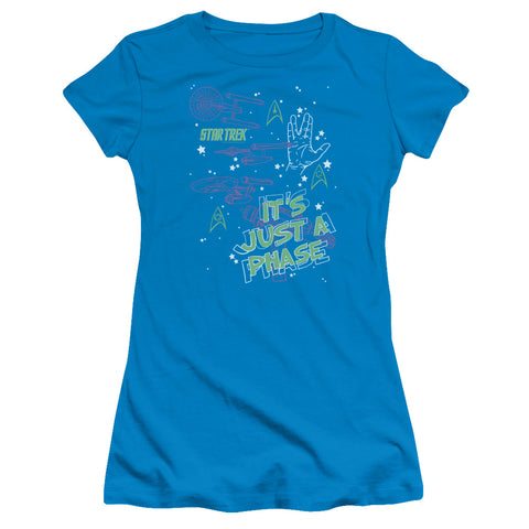 Star Trek - Just A Phase Short Sleeve Junior Sheer - F. W. Woolworth Co. Online Store