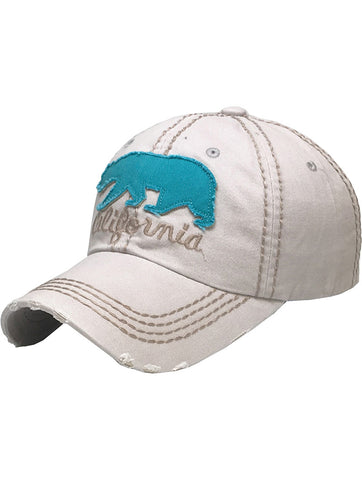Distressed California Trucker Hat - F. W. Woolworth Co. Online Store