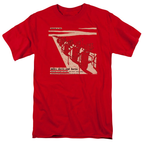 Miles Davis - Davis And Horn Short Sleeve Adult 18/1