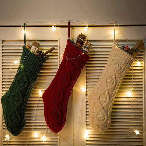 Knitted Christmas Stocking - F. W. Woolworth Co. Online Store