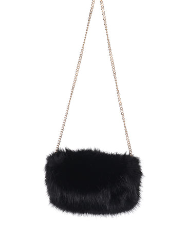Faux Fur Clutch / Crossbody - F. W. Woolworth Co. Online Store