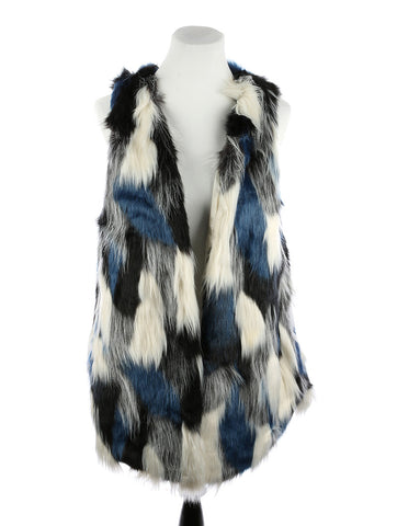 Faux Fur Long Vest - F. W. Woolworth Co. Online Store