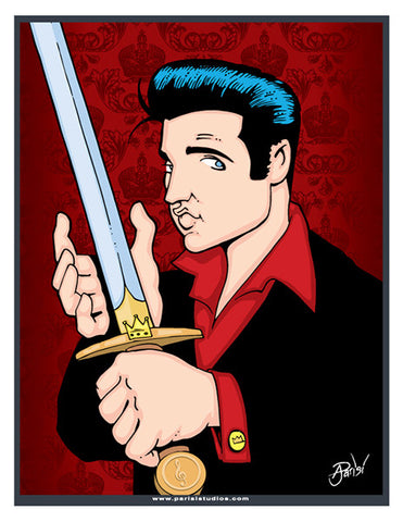 Parisi Studios: Elvis with Sword - F. W. Woolworth Co. Online Store