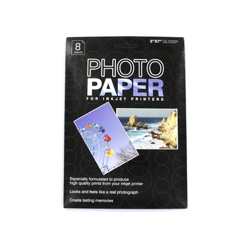 5x7 Inkjet Photo Paper