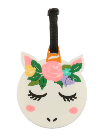 Woodland Unicorn Luggage Tag