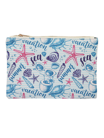 Sealife Pouch Makeup Bag