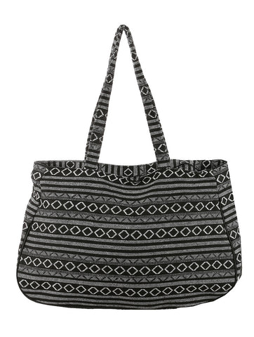 Tribal Print Tote - F. W. Woolworth Co. Online Store