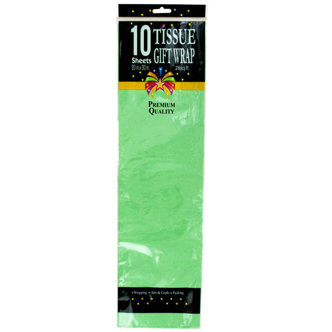 Tissue Paper - Mint Green - F. W. Woolworth Co. Online Store