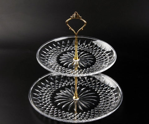 Two Tier Serving Dish