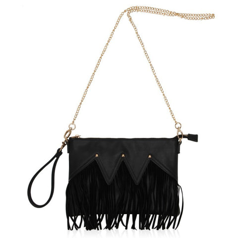 Black Tassel Clutch - F. W. Woolworth Co. Online Store