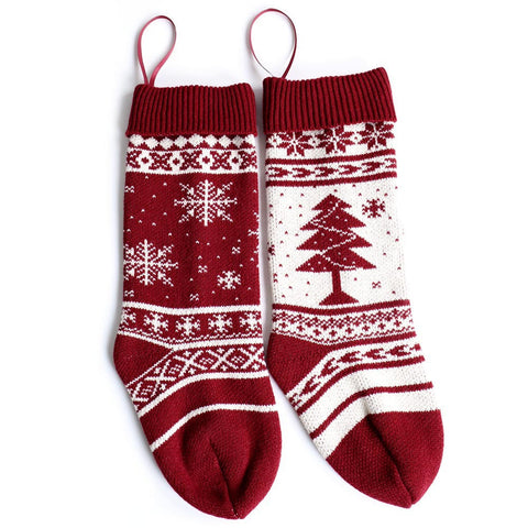 Sweater Pattern Christmas Stocking - F. W. Woolworth Co. Online Store