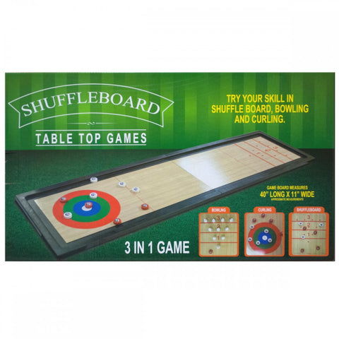 3 In 1 Shuffleboard Tabletop Game - F. W. Woolworth Co. Online Store