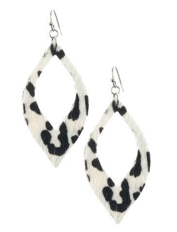 Animal Print Cutout Earrings - F. W. Woolworth Co. Online Store