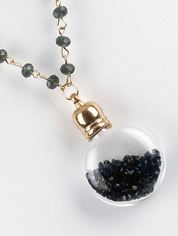 Black Vial Pendant Necklace - F. W. Woolworth Co. Online Store
