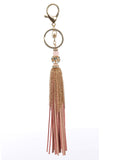 Suede Tassel and Chain Bag Charm - F. W. Woolworth Co. Online Store