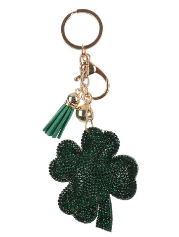 Four Leaf Clover Keychain / Bag Charm - F. W. Woolworth Co. Online Store