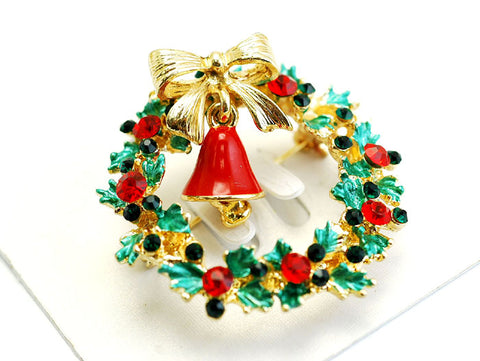 Christmas Wreath Brooch - F. W. Woolworth Co. Online Store