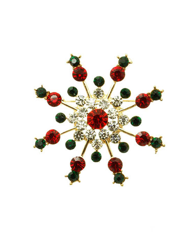 Snowflake Brooch - F. W. Woolworth Co. Online Store