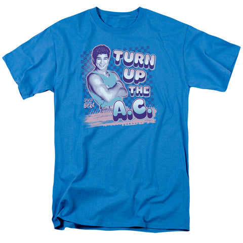 Saved By The Bell - Turn Up The Ac Short Sleeve Adult 18/1 - F. W. Woolworth Co. Online Store