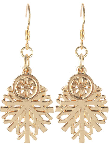 Snowflake Charm Earrings - F. W. Woolworth Co. Online Store